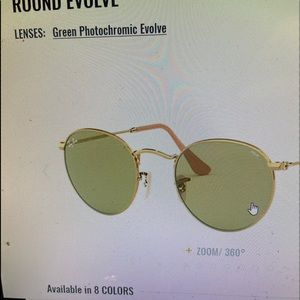 Brand new, authentic Ray-Ban evolve sunglasses